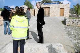 El juez autoriza a Sant Josep a entrar en la mansión de Puig d'en Serra para derribarla