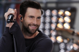 File photo of Adam Levine performing with Maroon 5 in New York