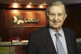Oliver abandonará la presidencia de la CAEB tras 20 años en el cargo