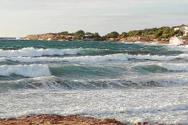 Alerta por lluvias en Eivissa y Formentera y por el descenso de las temperaturas