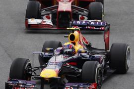 Alonso acepta que su tercer puesto en Brasil, por detrás de Red Bull, «era lo máximo»