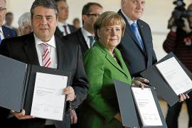 Merkel y el SPD sellan una coalición que aúna gasto social y ajuste fiscal