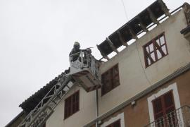 Alarma en Inca por el derrumbe de un tejado