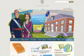 La web de Zarzuela estrena un área infantil para acercar la monarquía a los niños