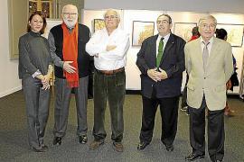 Inauguración expo Caixafòrum.