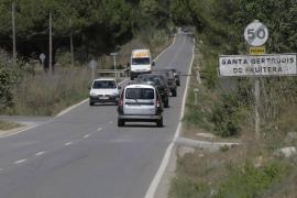 El juez rechaza la paralización de la construcción del carril bici de la carretera de Sant Miquel