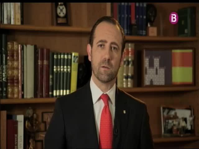 Bauzá se compromete a «seguir reivindicando personalmente» una financiación justa para Balears