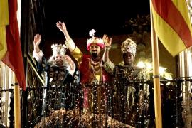 Los Reyes Magos se librarán de la lluvia en Balears