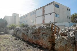 Meliá derriba la parte del hotel de s'Argamassa situada sobre el acueducto