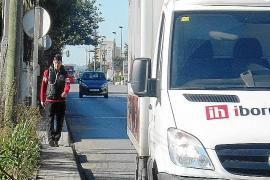 La avenida de Sant Josep,  un deporte de riesgo