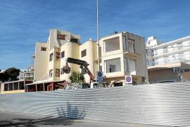 Sant Antoni autoriza la demolición de los tres edificios declarados en ruina