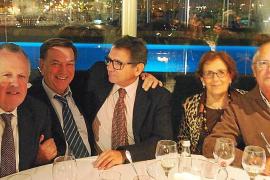 Despedida de Mariano Ozonas, jefe del servicio de Urología del hospital Son Dureta y hospital Son Espases