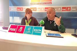 PSOE-Pacte pide la suspensión del expediente «irregular» de la carretera de Cala Vedella