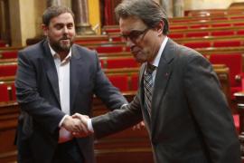 Catalunya aprueba llevar la consulta soberanista al Congreso con la ruptura de voto del PSC