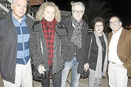Cena en el hotel Mirador con colaboradores de la gala a beneficio de Llevant en Marxa.