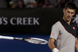 Djokovic cae en Australia