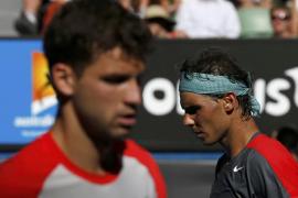 Nadal escapa de Dimitrov con sufrimiento y se coloca en semifinales