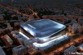 Florentino Pérez presenta el nuevo Bernabéu
