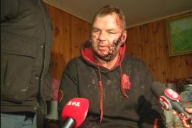 Un líder de la oposición ucraniana denuncia haber sido torturado