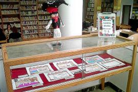 Dibujos y lemas para conmemorar el 25 aniversario de la biblioteca de Can Ventosa