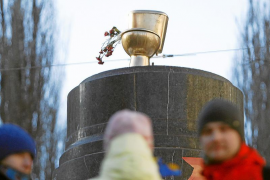 Los opositores ucranianos denuncian supuestas corruptelas de Yanukóvich