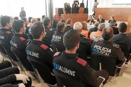 24 nuevos agentes se incorporarán en junio a las policías locales de Eivissa y Formentera