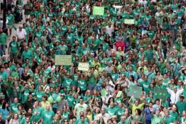 En 2013 hubo un 50% menos de manifestaciones que en 2012 en Balears