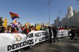 La Marea Ciudadana vuelve a protestar en Madrid contra los «recortes» del Gobierno