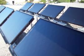 El centro de salud de Santa Eulària estrena placas solares