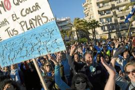 Joan Tur: «Solo se invirtieron cien euros en la manifestación, todo lo demás lo hizo la gente»