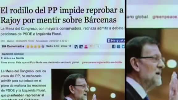 """El PSOE lanza un vídeo acusando a Rajoy de """"autoritarismo"""" y mandándole callar"""