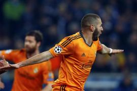 El Madrid acaba con la maldición alemana goleando al Schalke (1-6)
