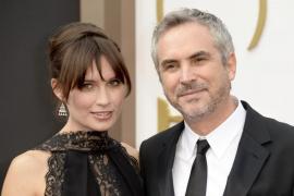 Alfonso Cuarón y Sheherazade Goldsmith