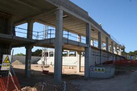 Las obras del polideportivo de Formentera, a toda marcha