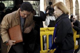 Munar y Matas han llegado al juzgado con 15 minutos de diferencia