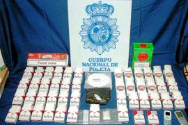 En el banquillo cuatro acusados de introducir 'coca' en Eivissa en paquetes de cigarrillos