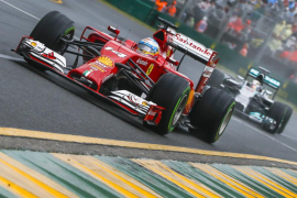 Alonso: «Aunque suene pesimista, la prioridad es terminar la carrera»