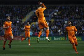 El Real Madrid se agarra a un gol de Ronaldo ante un meritorio Málaga