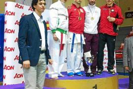Román cierra la gran actuación pitiusa en el nacional con un bronce