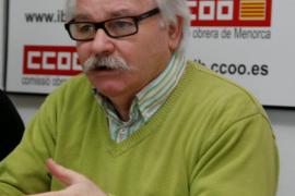 Ginés Díez, de CCOO