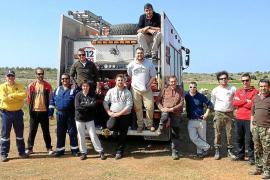 Formentera ya cuenta con 12 nuevos voluntarios para su cuerpo de Protección Civil