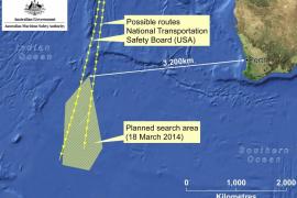 Australia halla en el Índico objetos que pueden pertenecer al avión de Malasia desaparecido