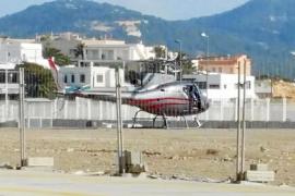 Una empresa quiere conectar las Pitiüses en helicóptero desde es Botafoc