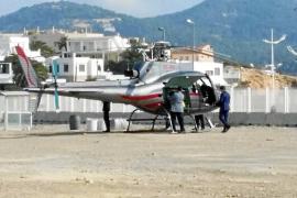 Formentera advierte de que no aceptará molestias causadas por los helicópteros
