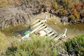 Formentera pretende recuperar el circuito hídrico del canal de la Savina