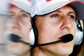 Schumacher muestra «señales esperanzadoras» en su convalecencia