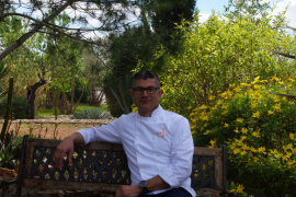 Santi Pons, cocinero