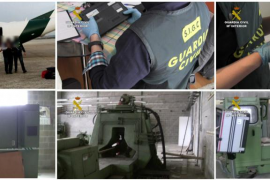 La Guardia Civil detiene en Palma a un hombre que planeaba enviar equipos de misiles a Irán