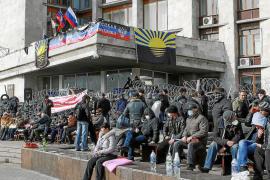 Grupos prorrusos declaran la independencia de la región ucraniana de Donetsk
