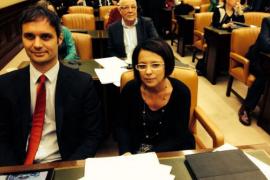 Pablo Martín y Sofía Hernanz
